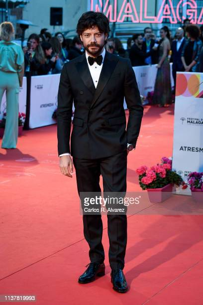Actor Alvaro Morte attends the Malaga Film Festival 2019 closing day gala at Cervantes Theater on March 23 2019 in Malaga Spain