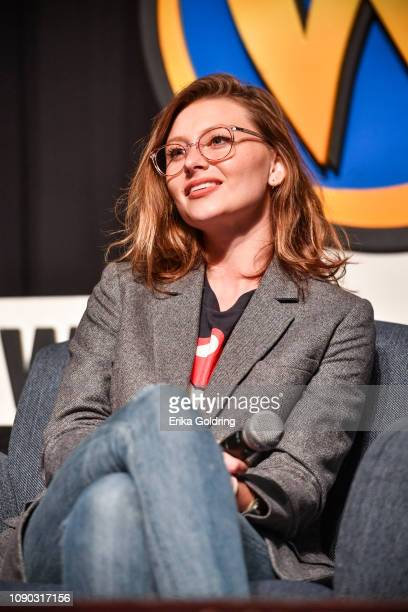 Actor Aly Michalka of 'iZombie' attends Wizard World Comic Con at Ernest N Morial Convention Center on January 04 2019 in New Orleans Louisiana