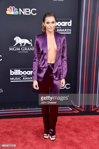 Actor Alyson Stoner attends the 2018 Billboard Music Awards at MGM Grand Garden Arena on May 20 2018 in Las Vegas Nevada