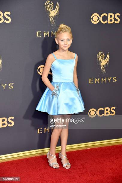 Actor Alyvia Alyn Lind attends the 69th Annual Primetime Emmy Awards at Microsoft Theater on September 17 2017 in Los Angeles California