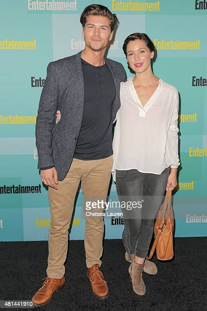 Actor Amadeus Serafini arrives at the Entertainment Weekly celebration at Float at Hard Rock Hotel San Diego on July 11 2015 in San Diego California