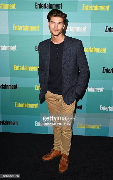 Actor Amadeus Serafini attends Entertainment Weekly's ComicCon 2015 Party sponsored by HBO Honda Bud Light Lime and Bud Light Ritas at FLOAT at The...