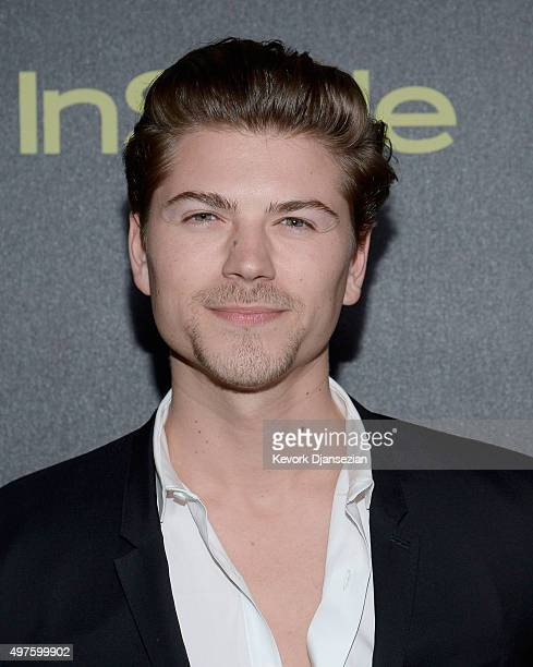 Actor Amadeus Serafini attends Hollywood Foreign Press Association and InStyle Celebration of The 2016 Golden Globe Award Season at Ysabel on...