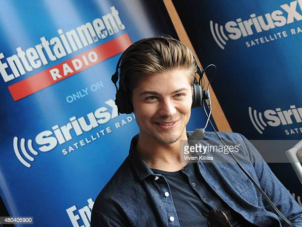 Actor Amadeus Serafini attends SiriusXM's Entertainment Weekly Radio Channel Broadcasts From ComicCon 2015 at Hard Rock Hotel San Diego on July 11...