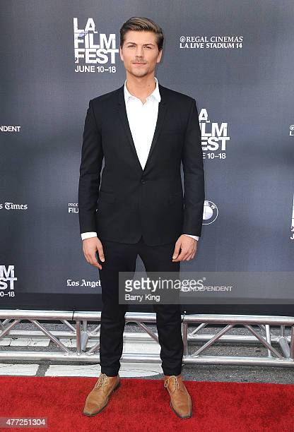 Actor Amadeus Serafini attends the premiere Of MTV and Dimension TV's 'Scream' at the 2015 Los Angeles Film Festival at Regal Cinemas LA Live on June...