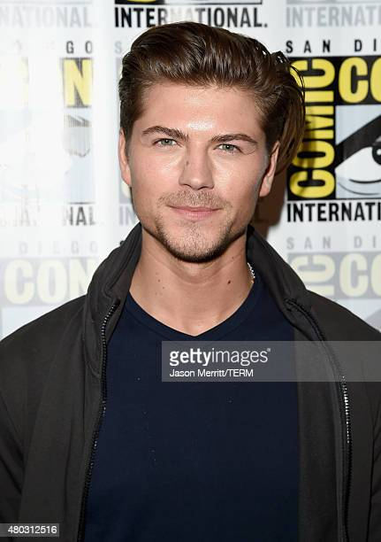 Actor Amadeus Serafini attends the 'Scream' press room during ComicCon International 2015 at the Hilton Bayfront on July 10 2015 in San Diego...