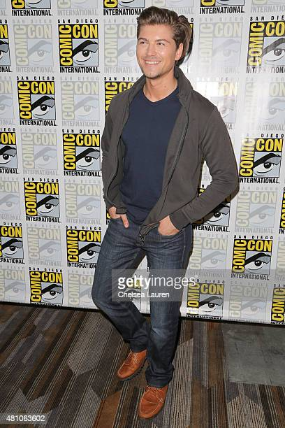 Actor Amadeus Serafini attends the 'Scream' press room during day 2 of ComicCon International on July 10 2015 in San Diego California