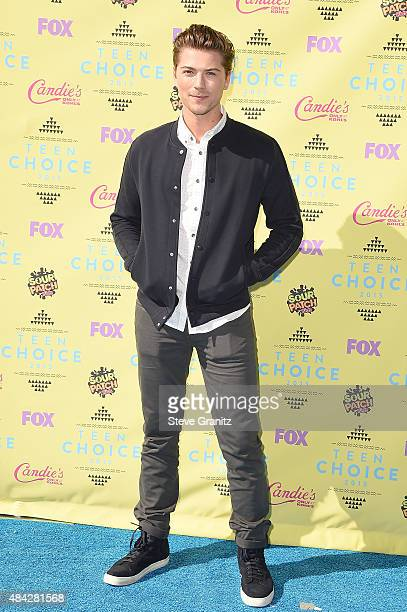Actor Amadeus Serafini attends the Teen Choice Awards 2015 at the USC Galen Center on August 16 2015 in Los Angeles California