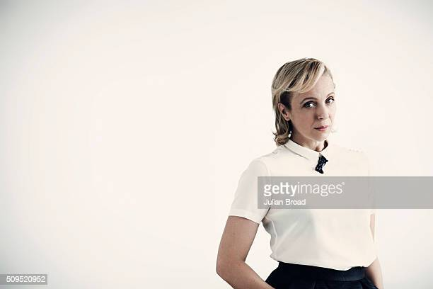 Actor Amanda Abbington is photographed for the Observer on August 3 2015 in London England