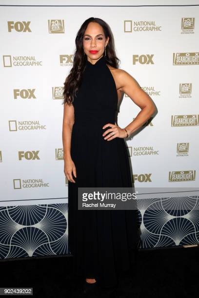 Actor Amanda Brugel attends Hulu's 2018 Golden Globes After Party at The Beverly Hilton Hotel on January 7 2018 in Beverly Hills California