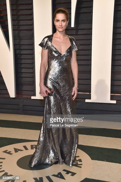 Actor Amanda Peet attends the 2017 Vanity Fair Oscar Party hosted by Graydon Carter at Wallis Annenberg Center for the Performing Arts on February 26...