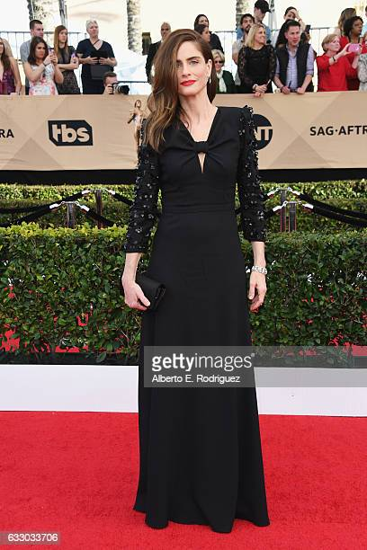 Actor Amanda Peet attends the 23rd Annual Screen Actors Guild Awards at The Shrine Expo Hall on January 29 2017 in Los Angeles California
