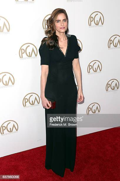 Actor Amanda Peet attends the 28th Annual Producers Guild Awards at The Beverly Hilton Hotel on January 28 2017 in Beverly Hills California