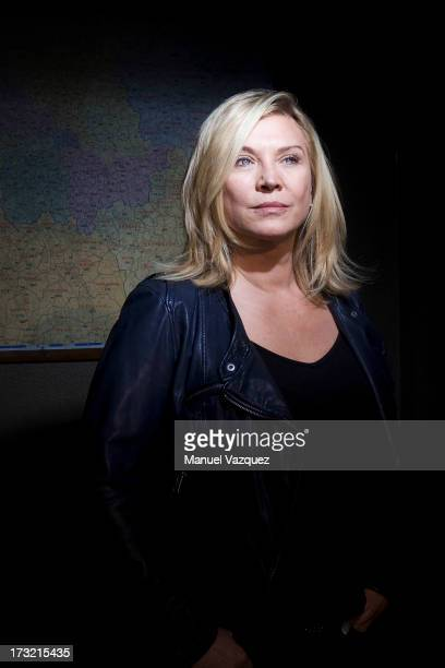 Actor Amanda Redman is photographed for the Sunday Times on June 1 2011 in London England