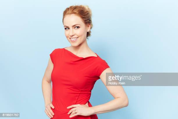 Actor Amanda Schull from Syfy's '12 Monkeys' poses for a portrait during ComicCon 2017 at Hard Rock Hotel San Diego on July 20 2017 in San Diego...