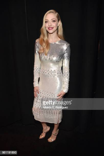 Actor Amanda Seyfried attends CinemaCon 2018 Universal Pictures Invites You to a Special Presentation Featuring Footage from its Upcoming Slate at...