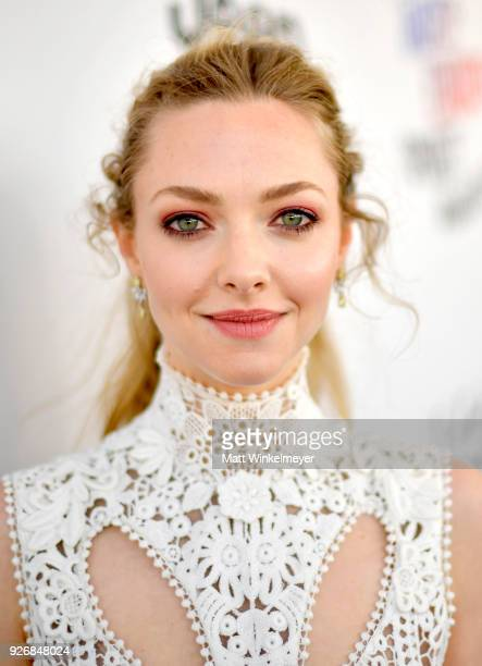 Actor Amanda Seyfried attends the 2018 Film Independent Spirit Awards on March 3 2018 in Santa Monica California