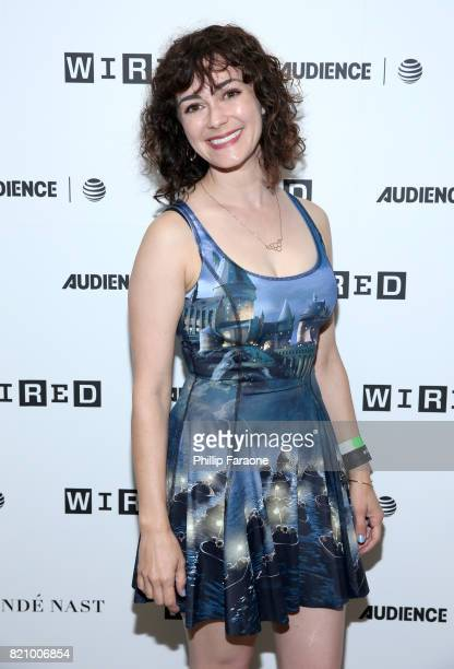 Actor Amanda Troop at 2017 WIRED Cafe at Comic Con presented by ATT Audience Network on July 22 2017 in San Diego California