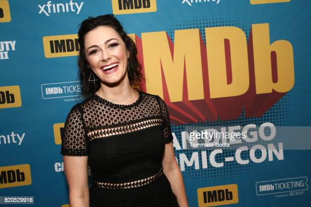 Actor Amanda Troop attends the #IMDboat Party at San Diego ComicCon 2017 Presented By XFINITY on The IMDb Yacht on July 21 2017 in San Diego...