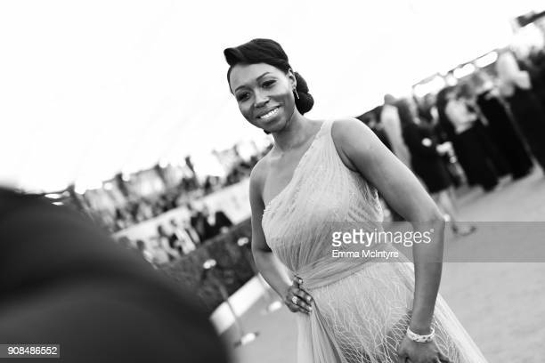 Actor Amanda Warren attends the 24th Annual Screen Actors Guild Awards at The Shrine Auditorium on January 21 2018 in Los Angeles California 27522_011