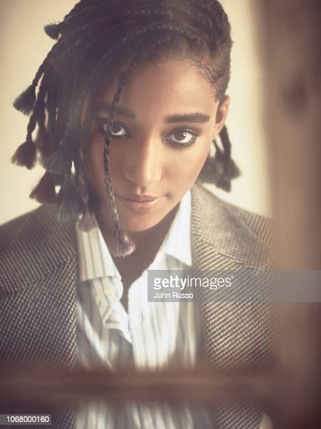 Actor Amandla Stenberg is photographed for Out magazine on July 24 2018 in Los Angeles California