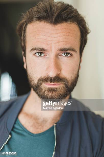 Actor Amaury de Crayencour is photographed for Self Assignment on June 19 2017 in Paris France