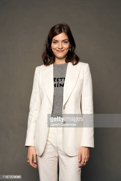Actor Amber Anderson from the film 'White Lie' poses for a portrait during the 2019 Toronto International Film Festival at Intercontinental Hotel on...