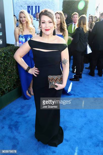 Actor Amber Nash attends the 23rd Annual Critics' Choice Awards on January 11 2018 in Santa Monica California