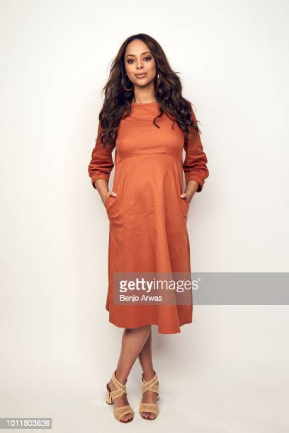 Actor Amber Stevens West of CBS's 'Happy Together' poses for a portrait during the 2018 Summer Television Critics Association Press Tour at The...