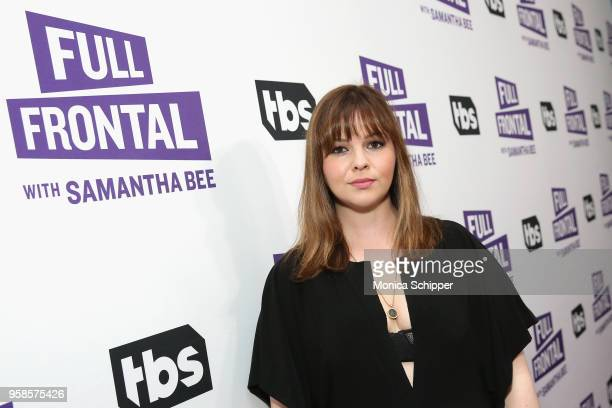 Actor Amber Tamblyn attends the 'Full Frontal with Samantha Bee' FYC Event NY on May 14 2018 in New York City