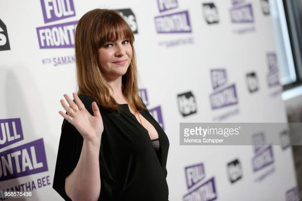 "Actor Amber Tamblyn attends the ""Full Frontal with Samantha Bee"" FYC Event NY on May 14, 2018 in New York City."