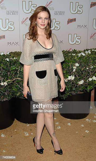Actor Amber Tamblyn attends the Us Hollywood 2007 Party at Sugar on April 26 2007 in Hollywood California