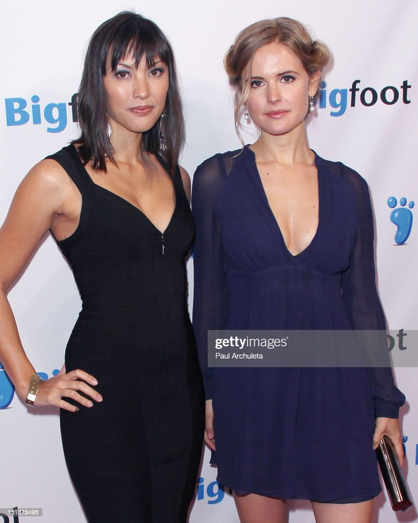 """Amelia Jackson Gray actor amelia jackson-gray and jaymee ong arrive at the """"deep"""