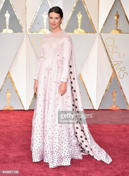 Actor Amelia Warner attends the 89th Annual Academy Awards at Hollywood Highland Center on February 26 2017 in Hollywood California