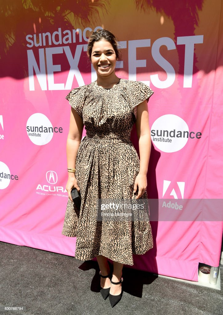 Actor America Ferrera attends 2017 Sundance NEXT FEST at The Theater at The Ace Hotel on August 12, 2017 in Los Angeles, California.