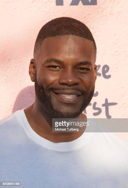 Actor Amin Joseph attends the premiere of Season 4 of FXX's You're The Worst at Museum of Ice Cream LA on August 29 2017 in Los Angeles California