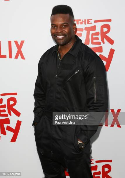 Actor Amin Joseph attends the screening of Netflix's 'The After Party' at the ArcLight Hollywood on August 15 2018 in Hollywood California