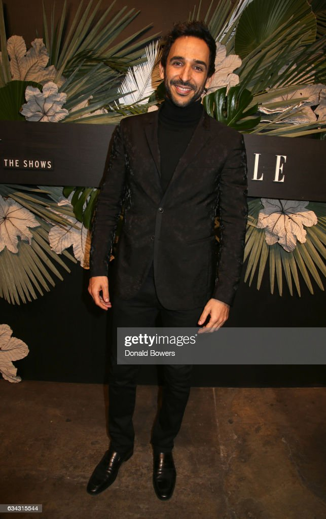 Actor Amir Arison attends E!, ELLE & IMG celebration to kick-off