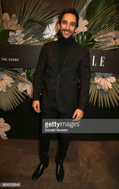 Actor Amir Arison attends E ELLE IMG celebration to kickoff NYFW The Shows on February 8 2017 in New York City