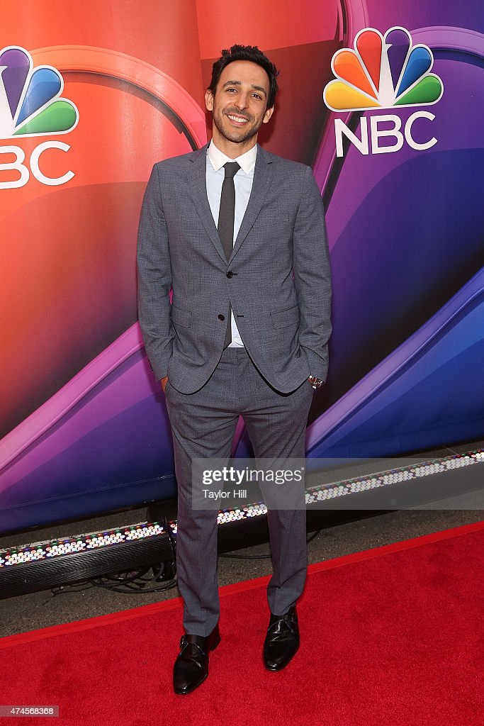 Actor Amir Arison attends the 2015 NBC Upfront Presentation red carpet event at Radio City Music Hall on May 11, 2015 in New York City.