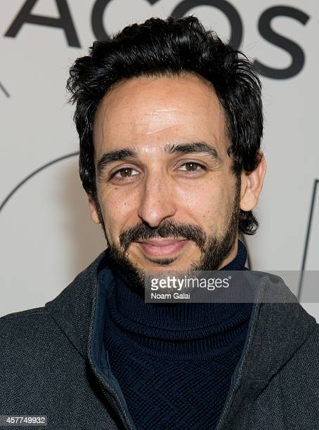 Actor Amir Arison attends the GQ x LaCoste Sport PopUp on October 23 2014 in New York City