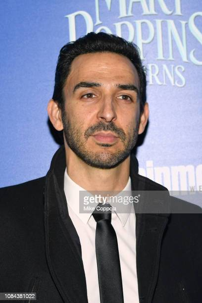 YORK DECEMBER Actor Amir Arison attends the Mary Poppins Returns hosted by The Cinema Society at SVA Theater on December 17 2018 in New York City