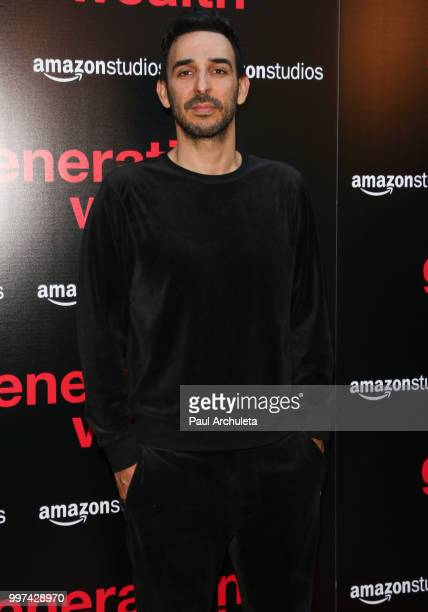 Actor Amir Arison attends the premiere of Amazon Studios' 'Generation Wealth' at ArcLight Hollywood on July 12 2018 in Hollywood California