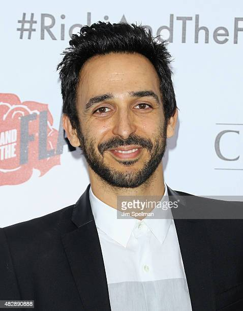 Actor Amir Arison attends the 'Ricki And The Flash' New York premiere at AMC Lincoln Square Theater on August 3 2015 in New York City
