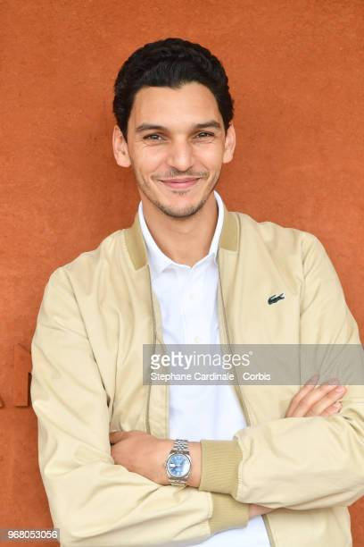 Actor Amir El Kacem attends the 2018 French Open Day Ten at Roland Garros on June 5 2018 in Paris France
