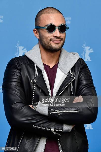 Actor Amir Jadidi attends the 'A Dragon Arrives' photo call during the 66th Berlinale International Film Festival Berlin at Grand Hyatt Hotel on...