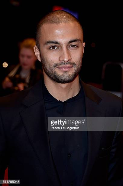 Actor Amir Jadidi attends the 'A Dragon Arrives' premiere during the 66th Berlinale International Film Festival Berlin at Berlinale Palace on...