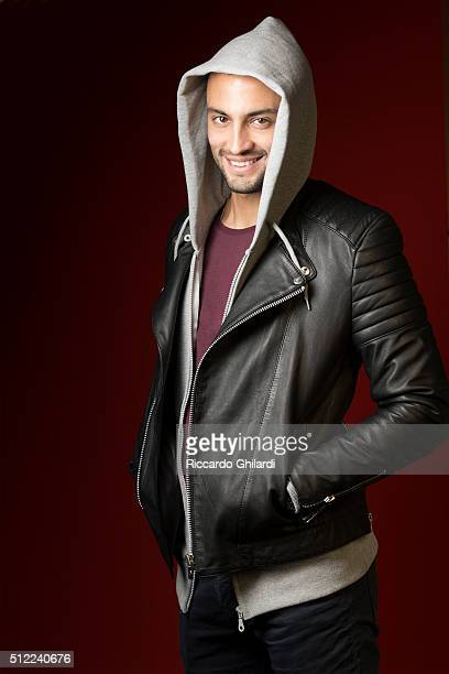 Actor Amir Jadidi is photographed for Self Assignment on February 19 2016 in Berlin Germany
