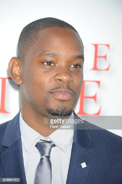 Actor Aml Ameen arrives at the premiere of The Butler held at Regal Cinemas LA Live