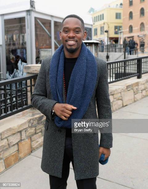 Actor Aml Ameen attends the 2018 Sundance Film Festival on January 19 2018 in Park City Utah